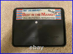Vintage April 1990 Box For Glock 17 Gen2 with Manual, Warranty, and Accessories
