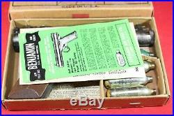 Vintage Benjamin No. 252.22 cal Pellet CO2 Gas Pistol withBox and Docs
