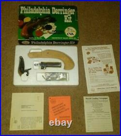 Vintage Brand New in box CVA Philadelphia Derringer kit w manual Made in Spain