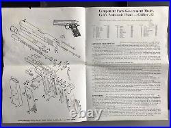 Vintage Colt 1911 Automatic Government Pistol Box