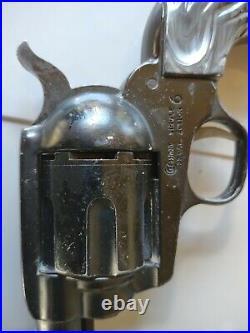 Vintage Crosman Pell gun single action 6 22 caliber air pistol with original box