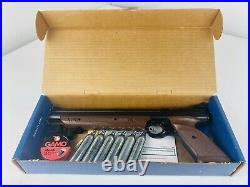 Vintage Crossman Airgun American Classic 1377 Pump Pistol Pellet Gun. 177 & Box