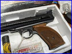 Vintage Daisy Power Line 722.22 Caliber Single Pump Pellet Pistol NOS in Box