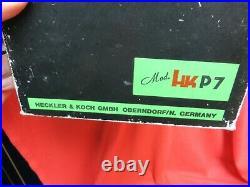 Vintage Hk P7 Heckler & Koch Original Empty Box + Tool