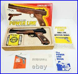 Vintage NOS Daisy Power Line 1200 CO2 BB Pistol with Box Manual BB's CO2 Cylinders