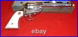 Vintage Nichols Stallion Mk-2-45-pistol With Original Box, bullets & Extra