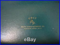 Vintage Post War Colt Woodsman Match Target Model Gun Box Parts