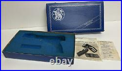 Vintage Smith & Wesson Model 41 5.5 A Series Box with Foam Insert and Papers