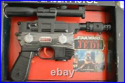 Vintage Star Wars Rotj Luke Laser Pistol Kenner Mint In Sealed Box Misb Mib Nrfb
