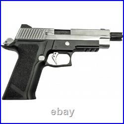 WE Tech P-Virus Two-Tone Gas Blowback Airsoft Pistol BLACK/SILVER