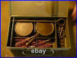 WW2 U. S. 1912 Barracks 1911 Pistol Cleaning Kit. (The Cleaning box is Complete)