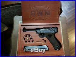 Wood Presentation Box/Case for Luger