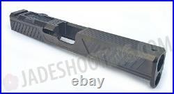 Zev Tech OPEN BOX Z17 Citadel Stripped Slide for Glock 17 Gen 4 Gray RMR G19