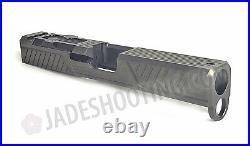 Zev Tech OPEN BOX Z19 Citadel Stripped Slide for Glock 19 Gen 4 Gray RMR G19