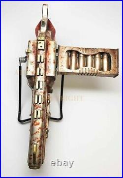 Zombie Survival Kit Steampunk Vaporizer Pistol With Glass Case Box And Magazine